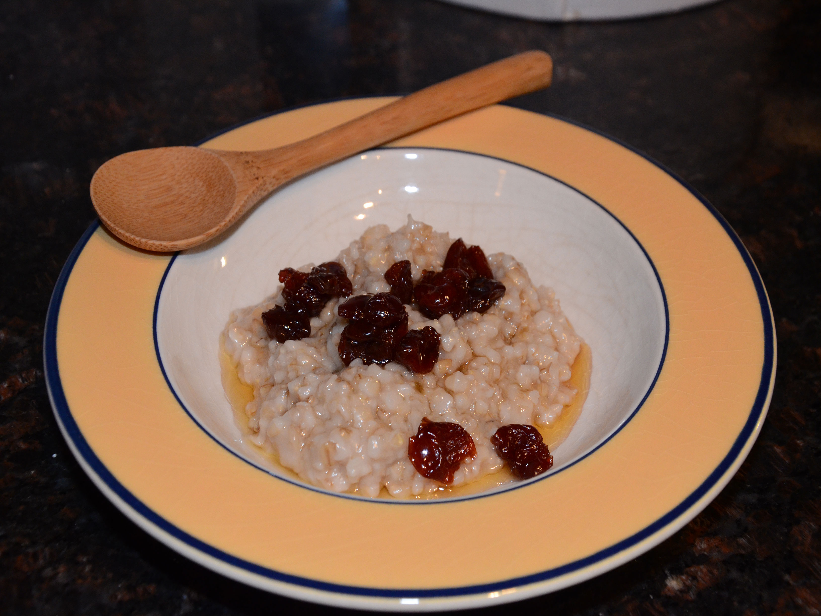 Steel Oats with Honey