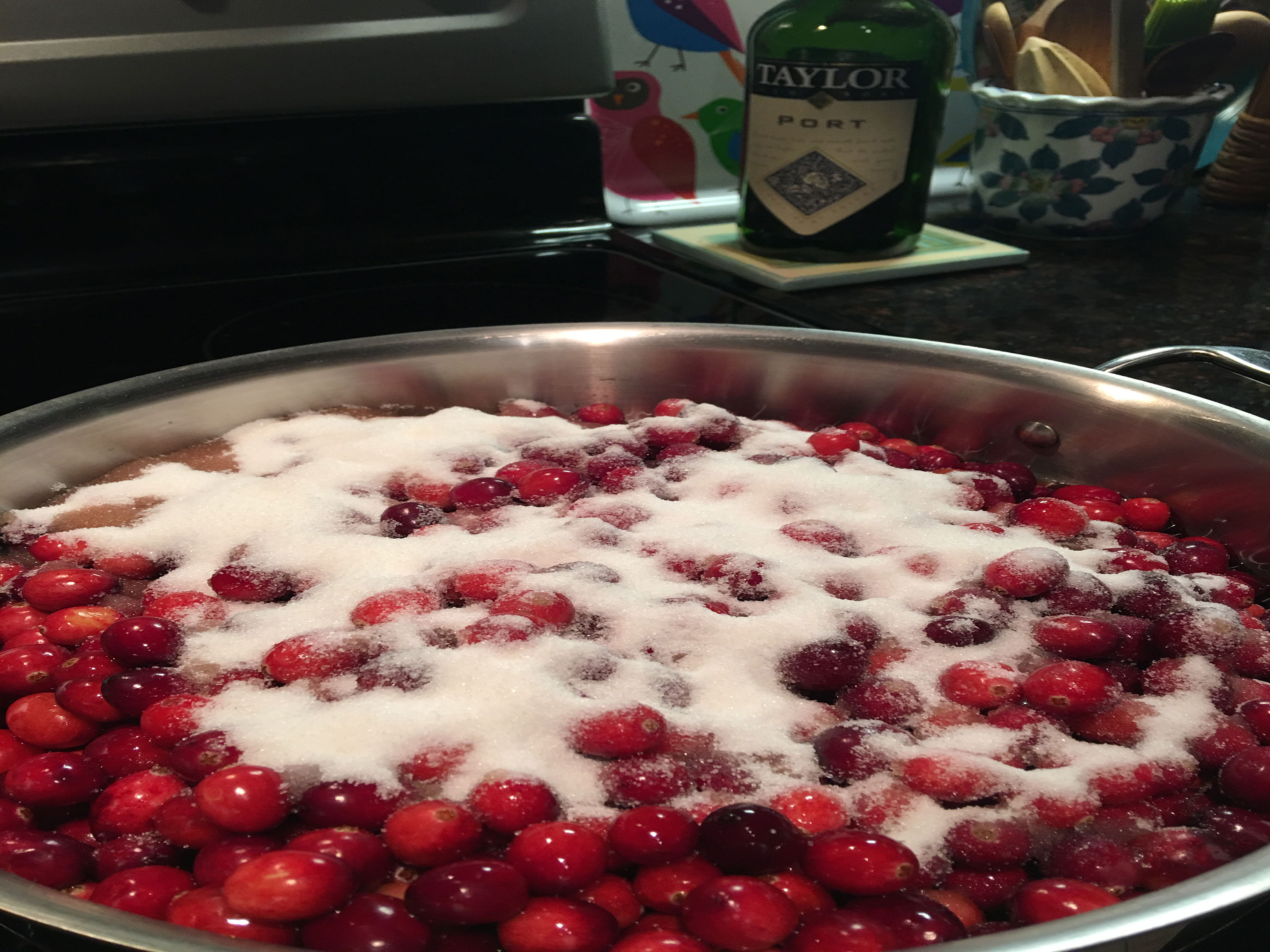 Cranberries in Port Recipe