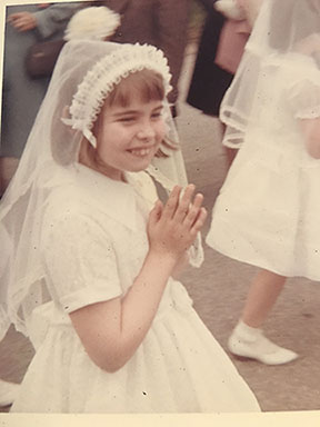 Meri First Holy Communion